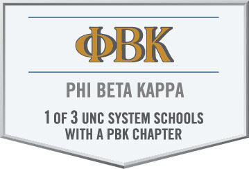 1 of 3 UNC Schools with Phi Beta Kappa chapter