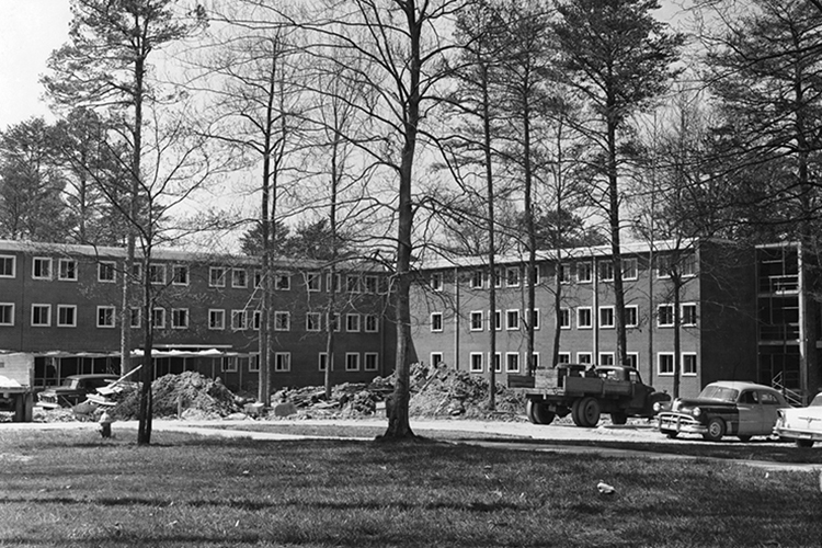 Moore-Strong Residence Hall, 1960