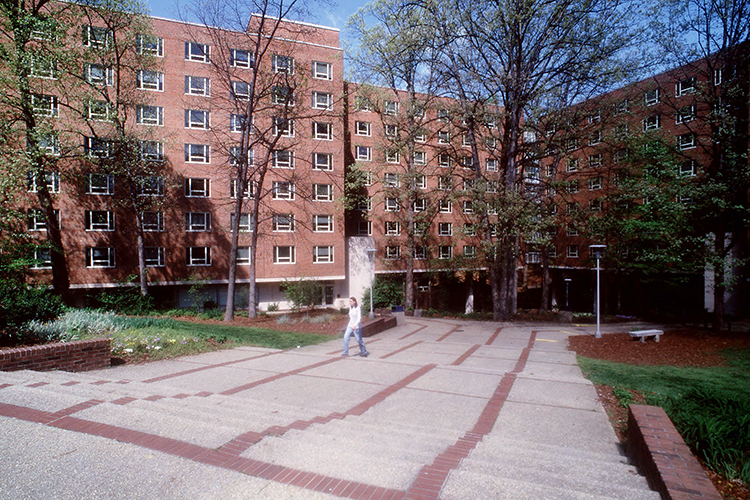 Grogan and Reynolds Residence Halls, 1995