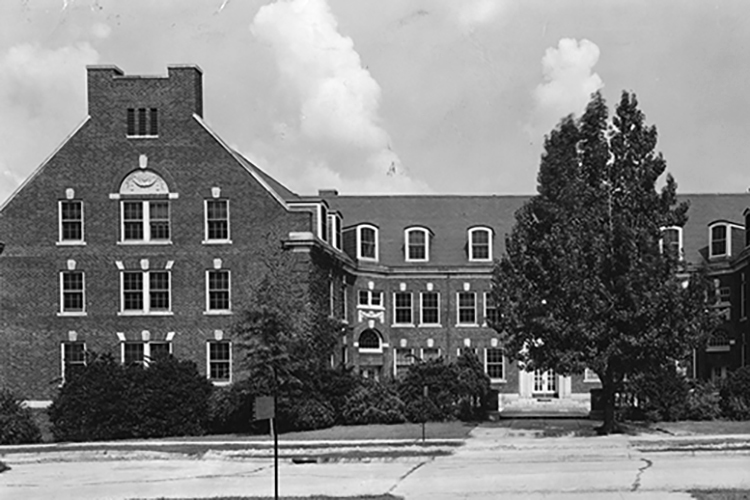 Mary Foust Residence Hall, 1928