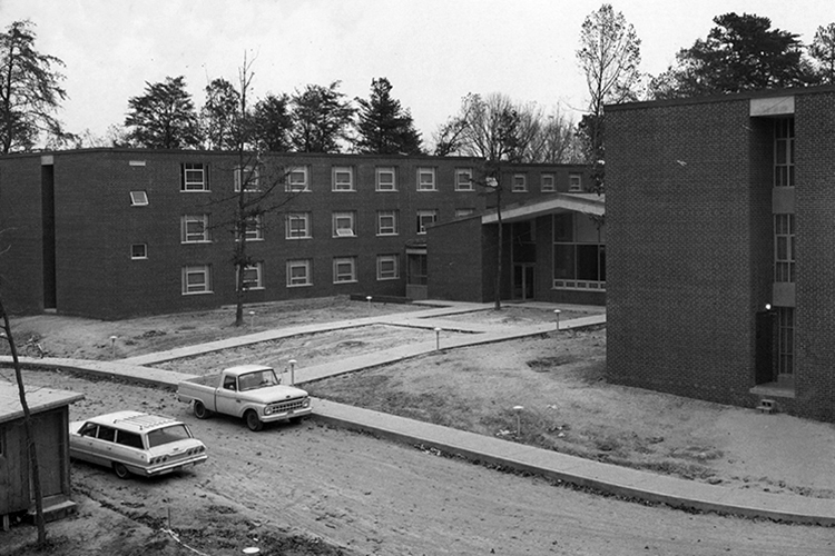 Phillips-Hawkins Residence Hall, 1967