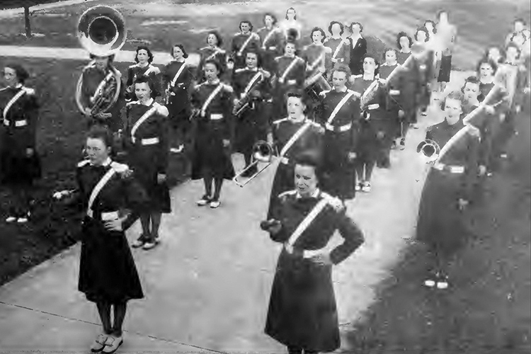 1939 Female Marching Band