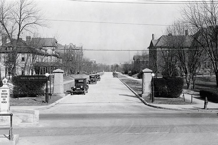 College Avenue, 1930