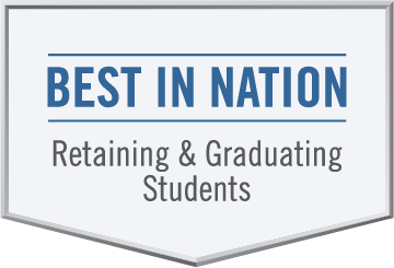 Best in Nation, Retaining and Graduating Students