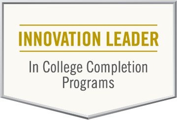 Innovation Leader in College Completion Programs