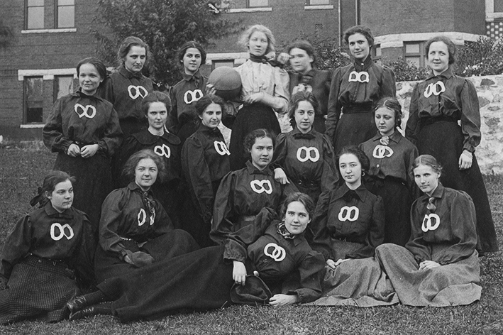 1900 Women's basketball team