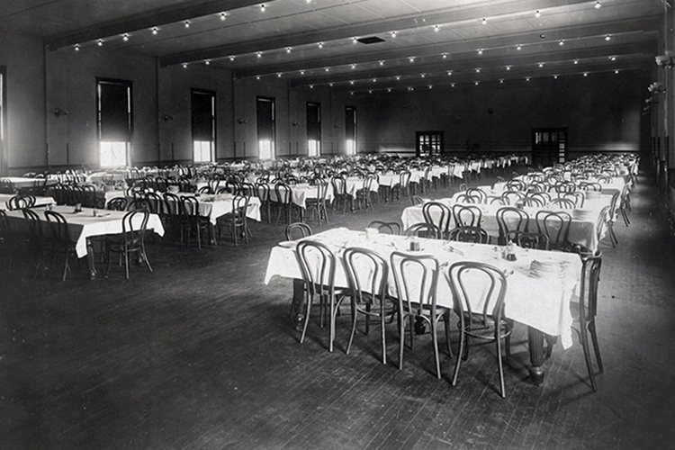 West Dining Hall, 1921