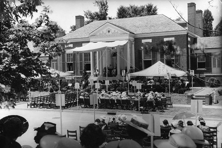 Alumnae House, 1937