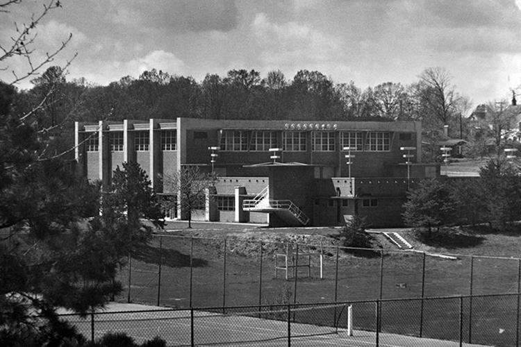 Coleman Gymnasium, 1952