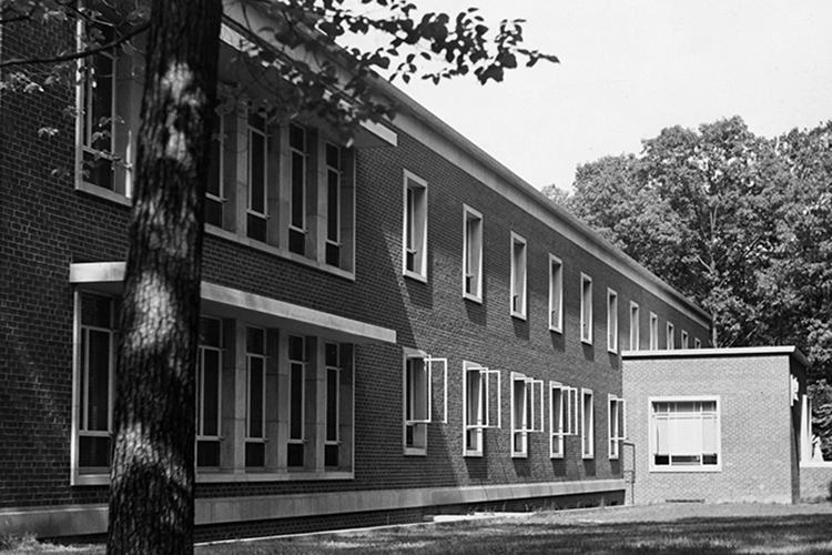 Gove Infirmary, 1953