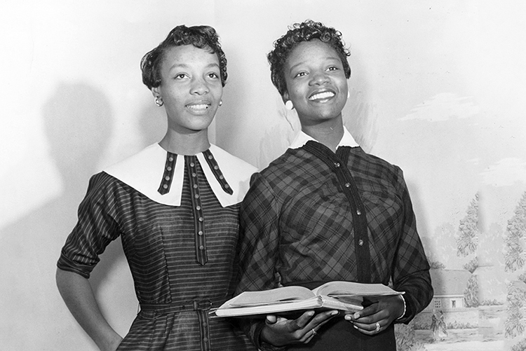 JoAnne Smart and Bettye Ann Davis Tillman